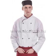 Szakács kabát hosszú ujjú