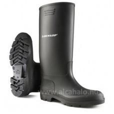 Dunlop csizma sav-és lúgálló PVC fekete