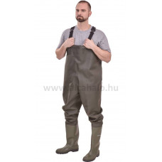 Védőnadrág csizmával/Melles csizma