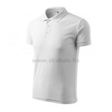 ADLER póló galléros fehér