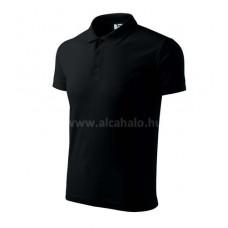 ADLER póló galléros fekete