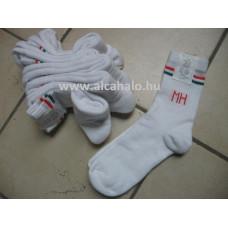 MH zokni fehér vastag