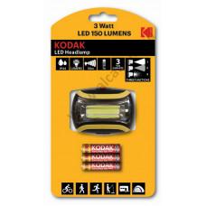 Kodak fejlámpa 3Watt LED