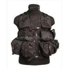 Taktikai mellény-9 zsebes-fekete