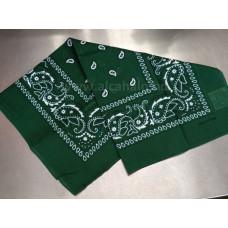Bandana kendő 55*55cm zöld
