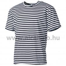 F.póló tengerész csíkos 00109