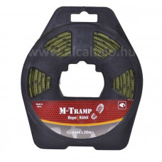M-Tramp kötél 6mm*20m zöld